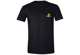 Sony Playstation T-Shirt Player (Goldfolie) M