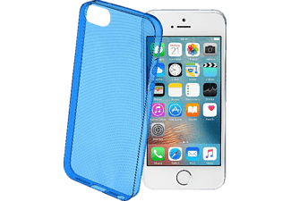 CELLULAR LINE 38206, Apple, Backcover, iPhone 5, iPhone 5s, iPhone SE, TPU, Blau