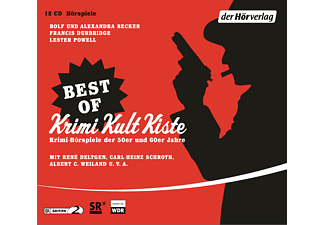 Best of Krimi Kult Kiste - 12 CD - Krimi/Thriller