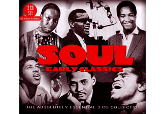 VARIOUS - Soul: Early Classics - The Absolutely Essential 3 Cd Collect [CD]