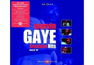 Marvin Gaye - Greatest Hits Live In '76 (Cd+Dvd) - (CD + DVD)