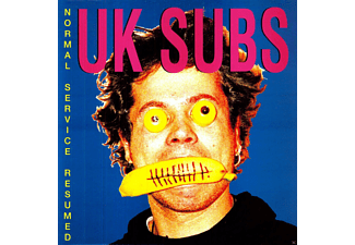 Uk Subs - Normal Service Resumed (Limited Edition) - (Vinyl)