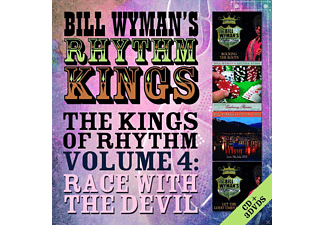 Bill Wyman's Rhythm Kings - The Kings Of Rhythm Vol.4: Race With The Devil - (CD + DVD Video)