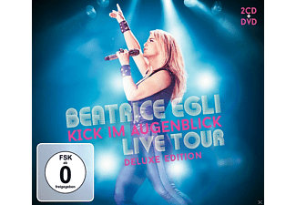 Beatrice Egli - Kick im Augenblick Live Tour (Deluxe) - (CD + DVD Video)