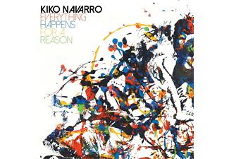 Kiko Navarro - EVERYTHING HAPPENS FOR A REASON - (CD)
