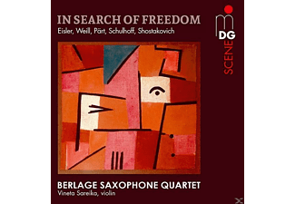 Berlage Saxophone Quartet - In Search of Freedom - (SACD Hybrid)