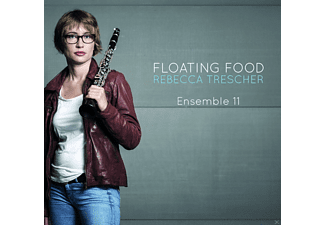 "Rebecca Trescher, Ensemble ""11"" - Floating Food - (CD)"