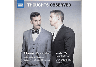 Dan Deutsch, Yaniv D'or - THOUGHTS OBSERVED - (CD)
