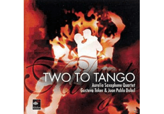 AURELIA SAXOPHONE QUARTET,THE & GUSTAVO,TOKER - Two To Tango - (CD)