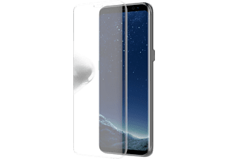 OTTERBOX 78-51251 GAL. S8 CLEARLY PROTECT. SKIN ALPHA GLASS, Handyhülle, Transparent, passend für Samsung Galaxy S8