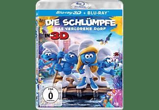 Die Schlümpfe - Das verlorene Dorf - (3D Blu-ray (+2D))