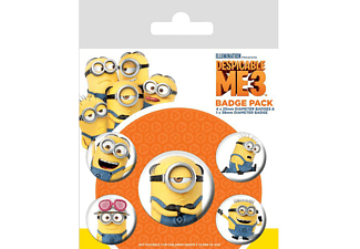 Despicable Me 3 Button Set 5-teilig Minions