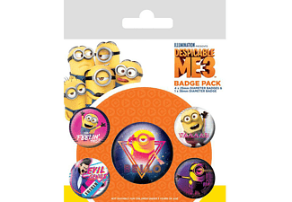 Despicable Me 3 Button Set 5-teilig 80's Vibe