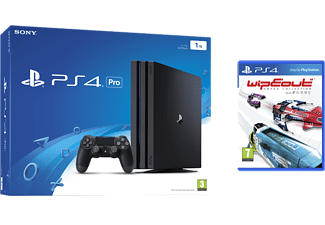 SONY PlayStation 4 Pro (inkl WipEout Omega Collection) - 1 TB