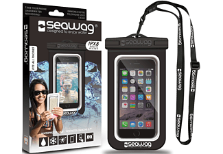 SEAWAG Β1Χ Waterproof Case For Smartphone Black & White