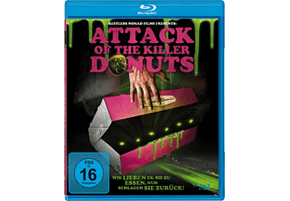 Attack of the Killer Donuts - (Blu-ray)