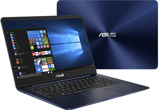 ASUS UX3430UA-GV012T I7-7500U/16GB/512 SSD BLUE, Notebook mit 14 Zoll Display, Core™ i7 Prozessor, 16 GB RAM, 512 GB SSD, HD-Grafik, Royal Blue
