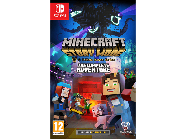 Minecraft Story Mode The Complete Adventure Nintendo Switch gaming games switch games