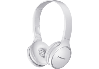 PANASONIC RP-HF400BE-W, On-ear Kopfhörer, Headsetfunktion, Bluetooth, Weiß