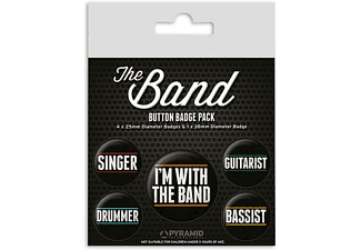 The Band Button Set
