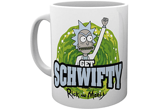Rick and Morty Tasse Get Schwifty