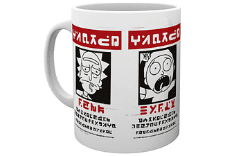 Rick and Morty Tasse WANTED