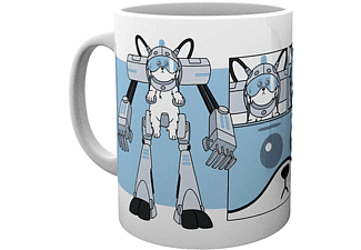 Rick and Morty Tasse Snowball Testicles