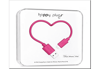 HAPPY PLUGS 9907 lıghtnıng to usb charge/sync cable 2 m cerıse