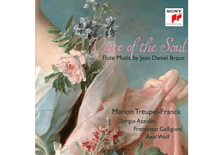 Marion Treupel-Franck, Azzolini Sergio - Voice of the Soul-Flute Music by Jean Daniel Braun - (CD)