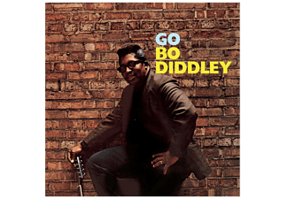 Bo Diddley - Go Bo Diddley+2 Bonus Tracks (Ltd.180g Vinyl) (Vinyl LP (nagylemez))