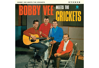 Bobby Vee - Meets The Crickets+2 Bonus Tracks (Vinyl LP (nagylemez))