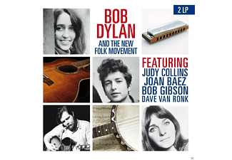Bob Dylan, Joan Baez, Judy Collins, Bob Gibson, Dave Van Ronk - Bob Dylan And The Folk Movement - (Vinyl)
