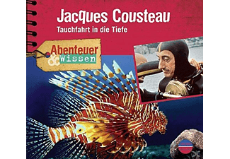 Jacques Cousteau.Tauchfahrt in die Tiefe - 1 CD - Hörbuch