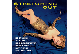 Zoot Sims, Al Cohn, Bob Brookmeyer, Nat Pierce, Freddie Green, Sweets Edison - Stretching Out - (CD)