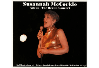 Susannah Mccorkle - Adeus-The Berlin Concert [CD]