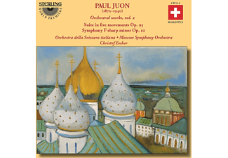 Moscow Symphony Orchestra, VARIOUS - Orchestral Works, Vol. 2 - (CD)