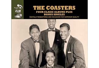 The Coasters - 4 Classic Albums Plus - (CD)
