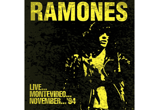 Ramones - Live, Montevideo, November 94 - (CD)