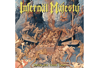 "Infernal Majesty - Unholier Than Thou (Coloured Vinyl+7"") - (Vinyl)"