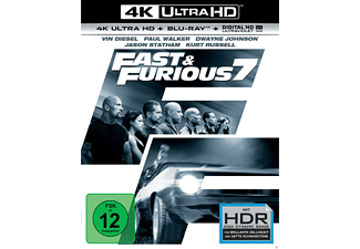 Fast & Furious 7 - (4K Ultra HD Blu-ray + Blu-ray)