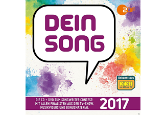 VARIOUS - Dein Song 2017 - (CD + DVD Video)