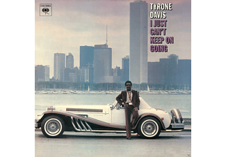 Tyrone Davis - I Just Can't Keep On Going - (CD)