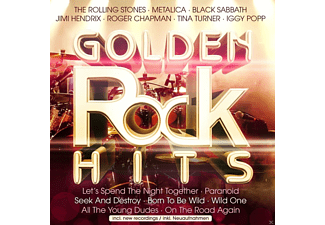 VARIOUS - GOLDEN ROCK HITS - (CD)