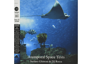 Stefano Ghittoni, Dj Rocca - ATEMPORAL SPACE TESTS (+CD) - (LP + Bonus-CD)