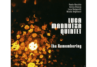 Luca Quintet Mannutza - THE REMEMBERING - (CD)