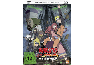 Naruto - Shippuden: The Movie 4 - The Lost Tower - (Blu-ray + DVD)