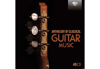 VARIOUS - Anthology Of Classical Guitar Music - (CD)