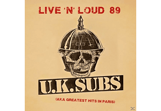 Uk Subs - Live 'n' Loud '89 (Aka Greatest Hits In Paris) - (CD)