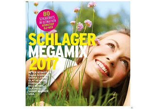 VARIOUS - Schlager Megamix 2017 - (CD)