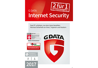 G Data InternetSecurity 2017 2 PC SE